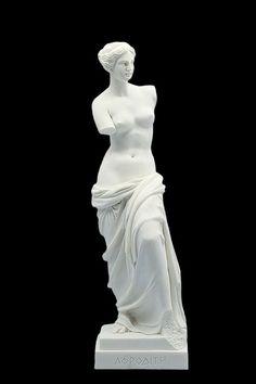APHRODITE of Mylos Greek Roman Goddess Venus de milo Marble Sculpture Handmade Museum Replica Classi