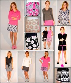 It might be winter outside but it's SPRING at Golftini! www.golftiniwear.com