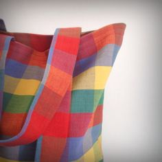 The Basic Plaid Tote – The RocSac Shop