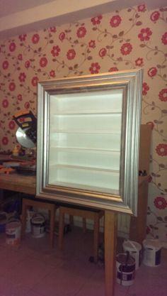Framed shelving...