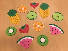 February fruit door tags!