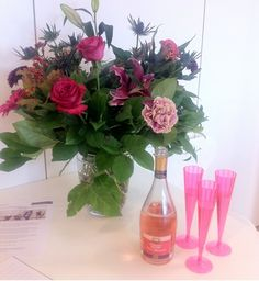 Fizz and flowers. What more do you need in life?