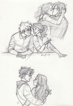 Harry and Ginny.