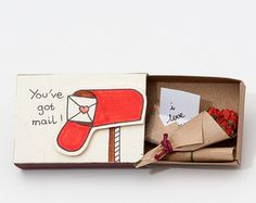 Valentines day card - Video Games - Will you be my player 2  **VALENTINES DAY ORDER CUT-OFF DAY ANNOUNCEMENT** To ensure your items are delivered before Valentines Day, the cut-off day for Standard shipping orders is Jan 22. For Standard shipping orders placed after Jan 22, items will arrive after Feb 14. This listing is for one matchbox. This is a great alternative to a Valentine/Anniversary card. Surprise your loved ones with a cute private message hidden in these beautifully decorated...