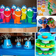 Ariel/Under the Sea party for Lily's 5th bday