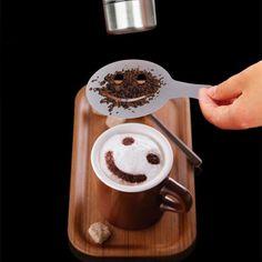 Coffee Barista Art Stencils