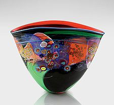 Art Glass Vessel by Wes Hunting