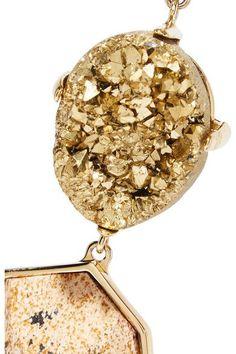 Christopher Kane - Gold-tone Stone Bracelet - one size