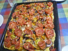 Ladenia (Greek Vegan Pizza)