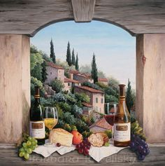 Barbara R. Felisky - Still Life In The Italian Hills