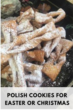 You searched for Angel wings - Polish Housewife Polish Desserts, Polish Recipes, Polish Food, Easter Recipes, Holiday Recipes, Holiday Meals, Fall Recipes, Polish Cookies, Christmas Baking
