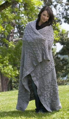 GORGEOUS! Cascade Yarns Pacific Elegance Afghan Free Downloadable Pattern Paradise Fibers #free #knitting #pattern