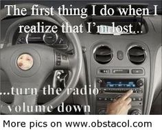 Why do I do that?  I also did that in high school when I came home late ad if my parents could hear my radio a mile from my house.