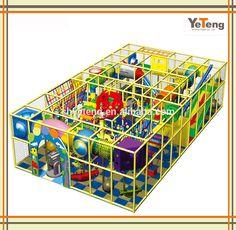 Kids cheap fiberglass playground slide/inflatable indoor playground China