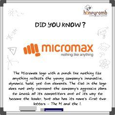Logo Facts - Hidden meaning of micromax logo Digital Marketing Strategy, Digital Marketing Services, Social Marketing, Inbound Marketing, Content Marketing, Internet Marketing, Online Marketing, Good Vocabulary, Logo Concept