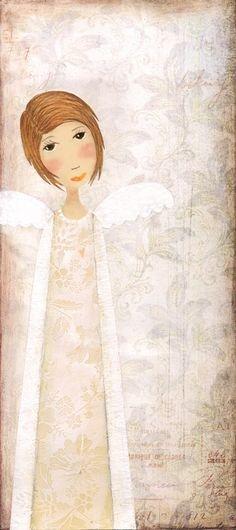 Because of you... art print by Katherine door sleepandhersisters