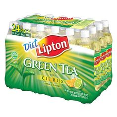 Lipton Diet Green Tea with Citrus I love this drink, I quit drinking soft drinks two years ago and this is my everyday drink now!