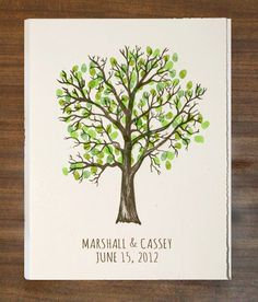 I want to do something like this for our guest book ♥ Wedding Tree Guest Book, Guest Book Tree, Our Wedding, Dream Wedding, Wedding Dreams, Wedding Stuff, Fingerprint Tree, Guestbook, Something To Do