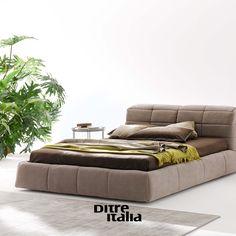 Comfort and style combined: here is Dunn bed!  Comodità e stile si incontrano: il letto Dunn vi saprà stupire!