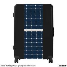 Solar Battery Panel Luggage