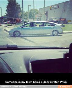 6-door stretch Prius... just what?