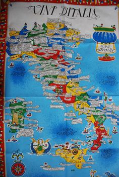 Italian wines: find out where they come from!