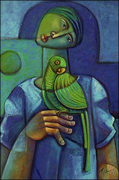 The Pigeon by Adelio Sarro