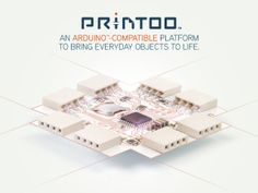Printoo: Paper-Thin, Flexible Arduino™-Compatible modules!