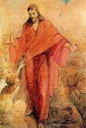 Christ in the Red Robe // Minerva Kohlhepp Tiechert