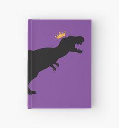 T-Rex King Hardcover Journal #trex #tyrannosaurus #rex #dinosaurs #jurassic