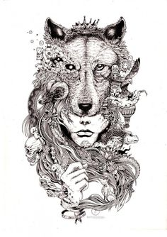 Amazing ink doodles by Kerby Rosanes http://po.st/kFbNok