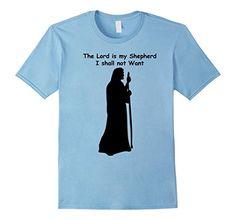 The Lord is my shepherd I shall not want T-shirt Christian - Male Small - Baby Blue ZaySa Desing T-shirt http://www.amazon.com/dp/B01BS31V3M/ref=cm_sw_r_pi_dp_Xsf5wb0ZBTHD5