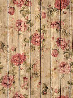 Rosas madera.