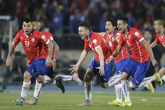 VIDEO Copa America Final 2015 Highlights: Chile Beat Argentina After Penalty Shootout Fifa, Football Soccer, Beats, Running, Highlights, America's Cup, International Soccer, Argentina, Soccer Players