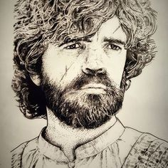 Tyrion Lannister. Part 2 of 3 of my #gameofthrones prints. Also I have time this week to tattoo so hit me up.  Enquiries : Thedeepestsouth@outlook.com  #tyrionlannister #peterdinklage #got #penandink #handofthequeen #tattoos #tyrionartwork #stippling #dots #dotwork #dotworktattoos #gameofthronesprints #art #scar #tattooportrait #stipplingportrait #dotworkportrait #gameofthronesart #tattooart #tattooideas #tattooflash #tattooprints #melbournetattoos #melbourneart #melbourneartist