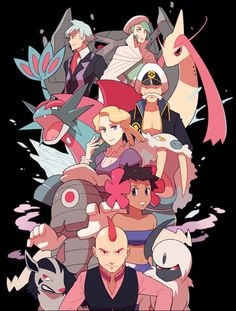 The Elite Four and Champion (3 out of 6)
