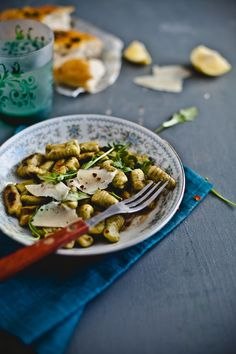 Arugula Gnocchi with Spicy Brown Butter Sauce   Playful Cooking