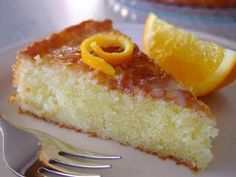 Orange Cake - Oh, this looks so yummy! Food Cakes, Cupcake Cakes, Cupcakes, Sweet Recipes, Cake Recipes, Dessert Recipes, Vegan Desserts, Just Desserts, Greek Sweets