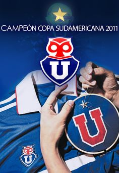 campeón Chile, Football, Design, Champs, University, Picture Cards, Sports, Journals, Blue