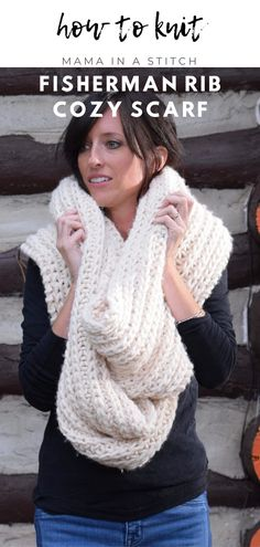This gorgeous scarf is so perfect to make for the cooler fall and winter months! I love how luxurious it is and it's made with super simple stitches! Easy Crochet Patterns, Knitting Patterns Free, Free Pattern, Easy Patterns, Knitting Ideas, Free Knitting, Knitting Projects, Handmade Scarves, Handmade Clothes