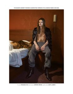 Richard Wagner para L'Officiel Hommes Tailandia Fall/Winter 2015 | Male Fashion Trends
