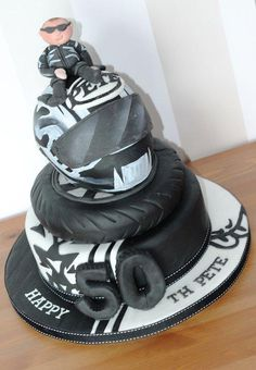 Motorcycle Cake OMG CAKES Pinterest Cake Birthdays and