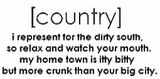 I am: Country.