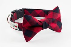 Dress up your pet with this extra-cute bowtie for dogs.
