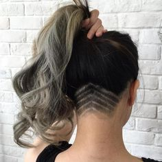 Long Hair With Nape Undercut