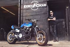 Custom Yamaha XJR1300 by Keino Cycles