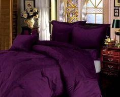 Romantic Purple Women bedroom interior decoration
