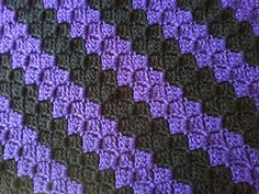 NL Dutch corner 2 corner c2c blanket/throw - Free (English) crochet pattern by Ami parabellum