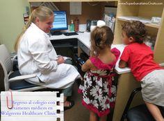 Listos para el regreso al colegio con exámenes médicos en Walgreens Healthcare Clinic #backtoschool #cbias #shop