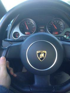 Al volante della nostra nuova Lamborghini Gallardo!!!